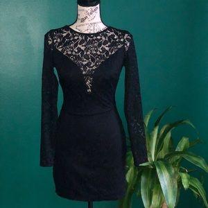 [Bebe] Black Lace dress